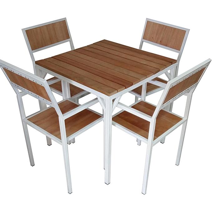 Table Tunisie: Table + 4 chaises | Ahla Decor: Meuble & Décoration